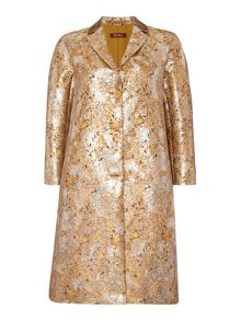 Max Mara RIVALTA metalic jacquard long sleeve jacket