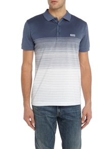 Hugo Boss Paddy 3 regular fit fine stripe polo shirt
