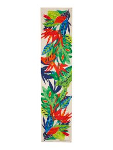 Lauren Ralph Lauren Claire tropical silk long scarf