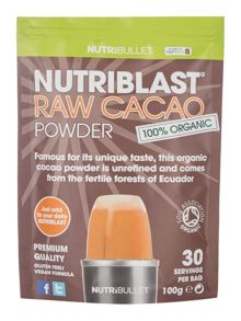 NutriBullet Nutriblast Raw Cacao Powder Supplement