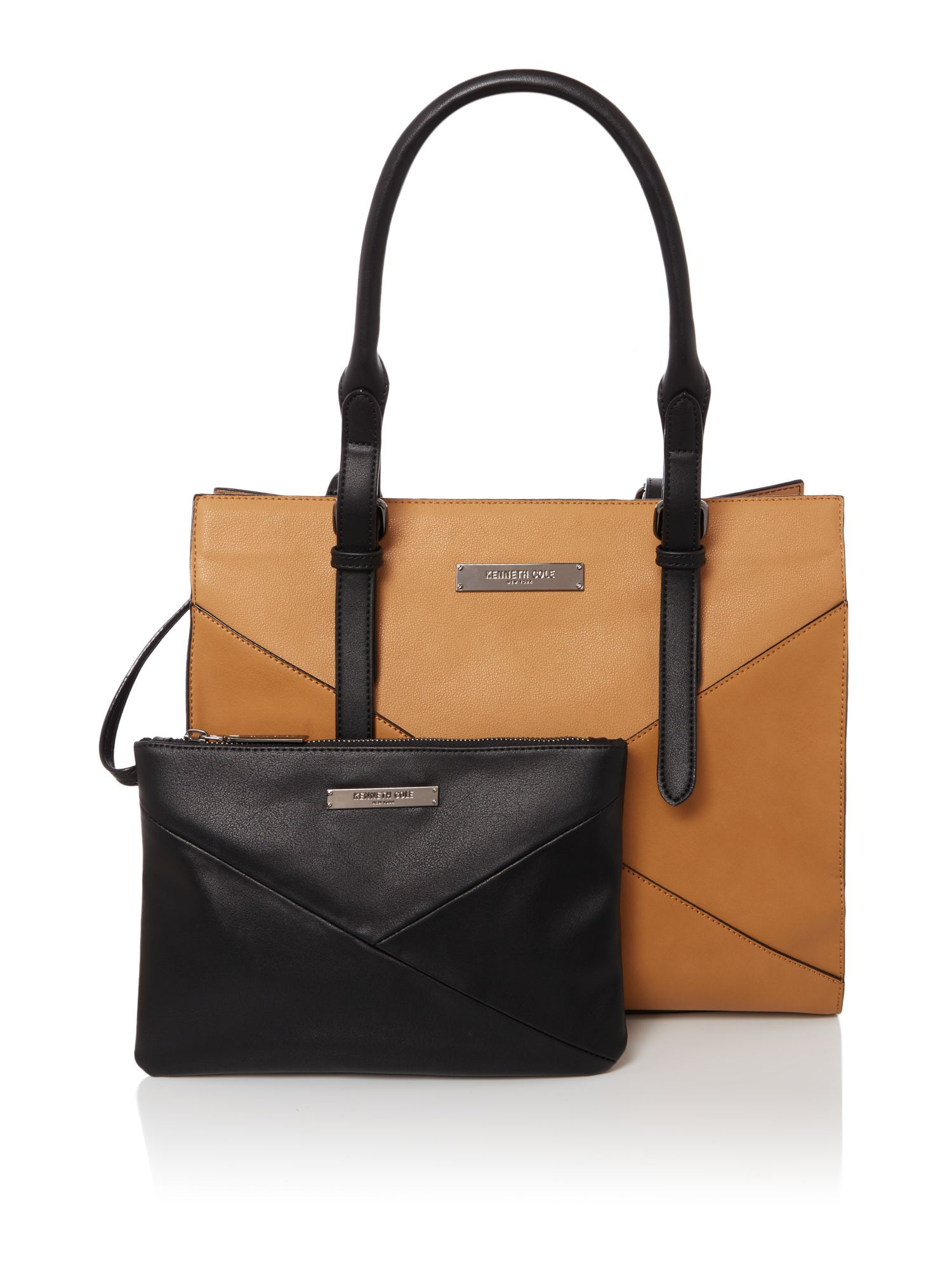 Kenneth Cole Greenwich tote bag Tan