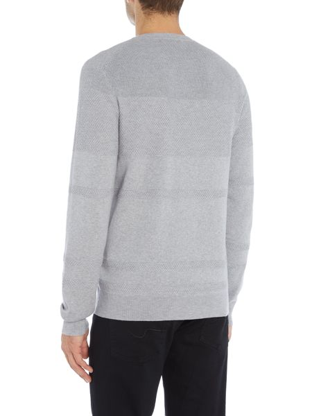 Michael Kors Crew neck textured jumper