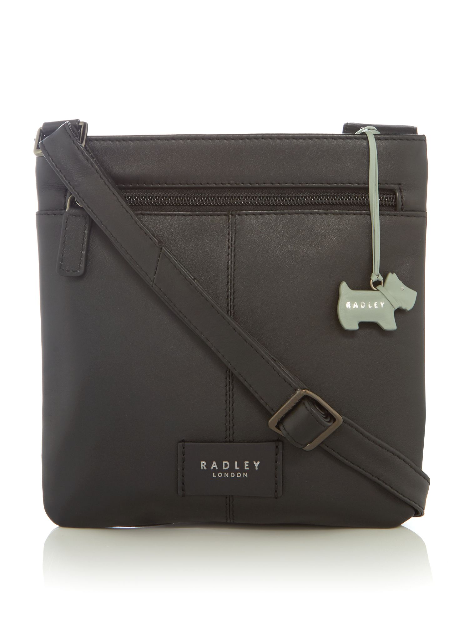 Radley Pocket bag small ziptop acrossbody bag Black