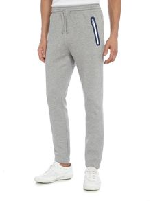 Hugo Boss Heacho contast zip tracksuit bottoms
