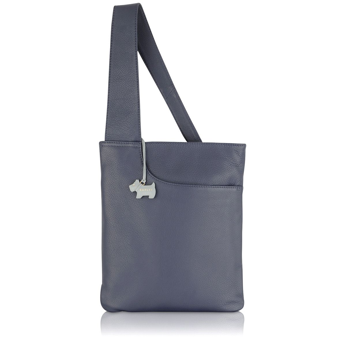 Radley Pocket bag medium ziptop crossbody bag Navy