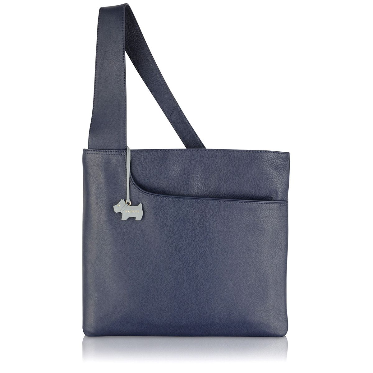 Radley Pocket bag large ziptop acrossbody bag Navy