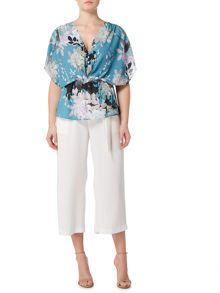 Biba Belted cropped trouser