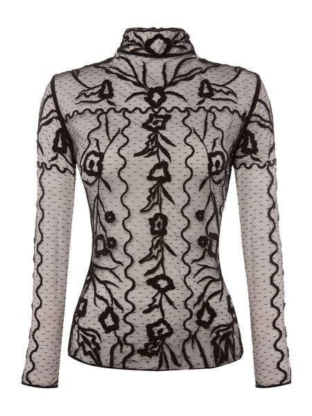 Endless Rose Longsleeve Lace Embroidered Top