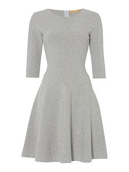 Dipleati 3/4 sleeve fit and flare dress