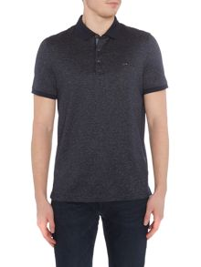 Michael Kors Fine stripe textured polo shirt