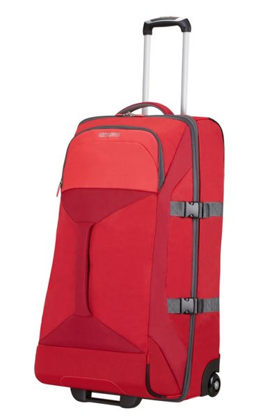 American Tourister Road quest red 2 wheel 80cm large duffle