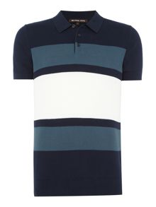 Michael Kors Colour block polo shirt