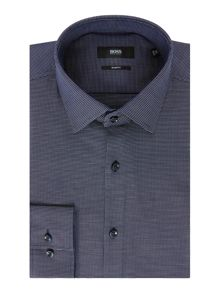 Hugo Boss Jenno Slim Fit Pin Dot Print Shirt