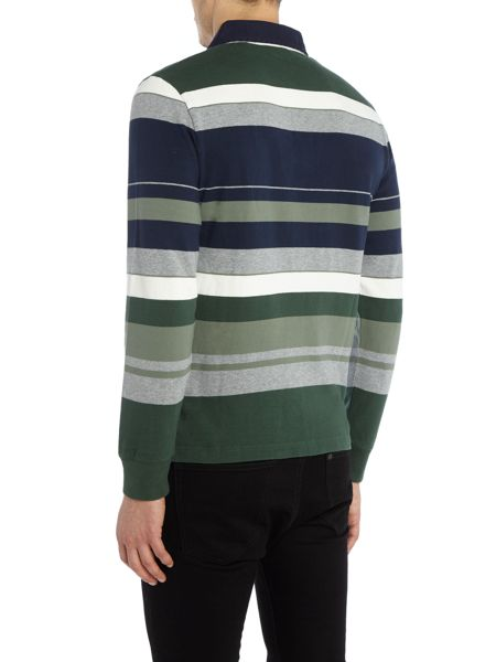 Gant Multi-Stripe Jersey Rugby Top
