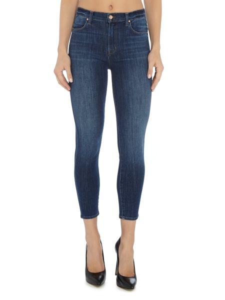 J Brand Alana high rise crop jean in thrill