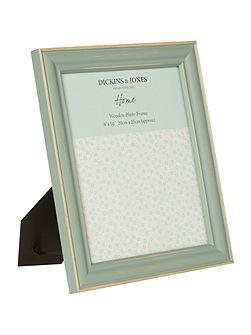 Duck egg Coloured Wood Frame 8x10