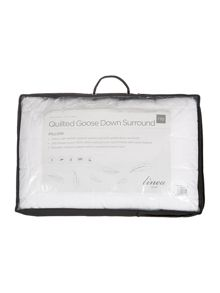 Linea Quilted goose down pillow