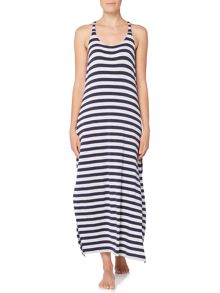 Dickins & Jones Stripe maxi dress