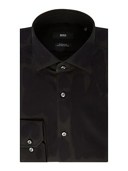 Gordon Tonal Textured Regular Fit Shirt