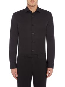 Hugo Boss Gordon Tonal Textured Regular Fit Shirt
