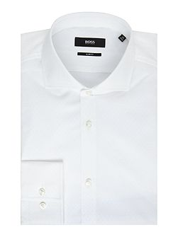 Jason Slim Fit Tonal Textured Slim Fit Shirt