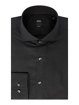 Jason Tonal Textured Slim Fit Shirt