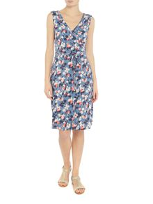 LILY & ME Fit and flare wrap dress