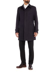 Hugo Boss Textured Water Repellent Trench Gadget