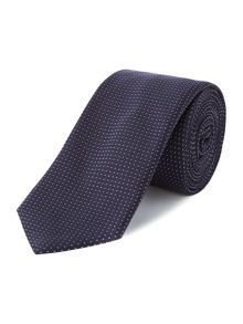 Hugo Boss Silk Textured Dot Tie