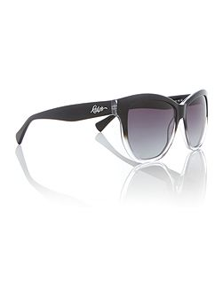 Black irregular RA5219 sunglasses