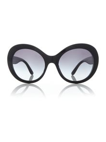 Dolce&Gabbana Black DG4295 oval sunglasses