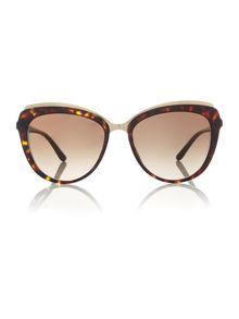Dolce&Gabbana Havana cat eye DG4304 sunglasses