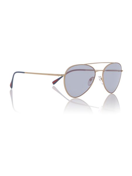 Prada Linea Rossa Gold phantos PS 50SS sunglasses