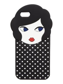 Lulu Guinness lulu doll face iphone 6 case