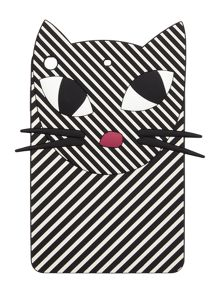 Lulu Guinness stripe kooky cat ipad mini