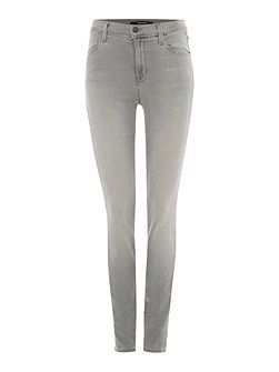 Maria high rise skinny jeans in dusk haze