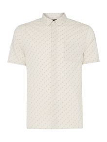Label Lab Richie Mini Triangle Ditsy Print Shirt