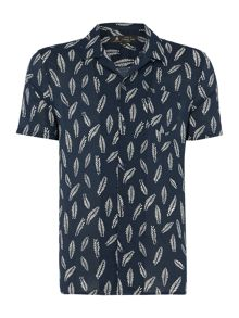 Label Lab Sammy Leaf Printed Shirt