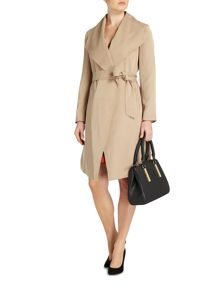 Linea Drape trench coat