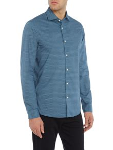 Michael Kors Small dot hiram shirt