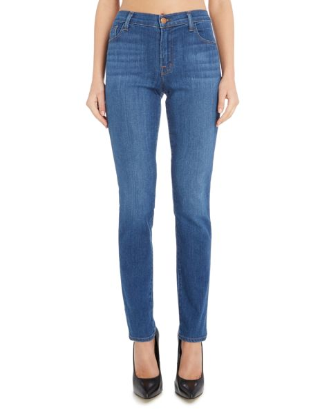 J Brand 811 mid rise skinny jean in connection
