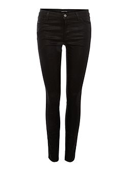 620 super skinny coated jeans in fearless
