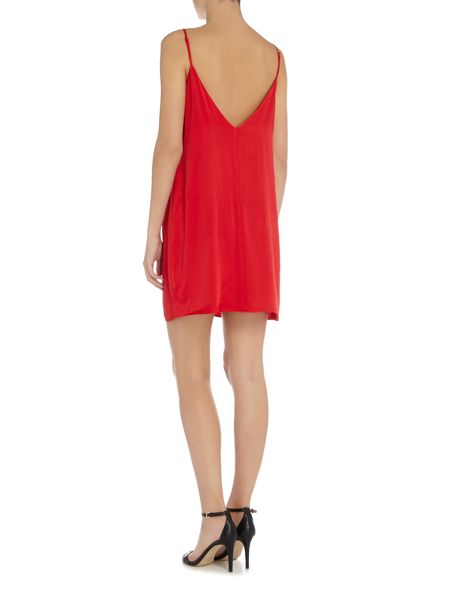 Bardot paloma sleeveless slip dress