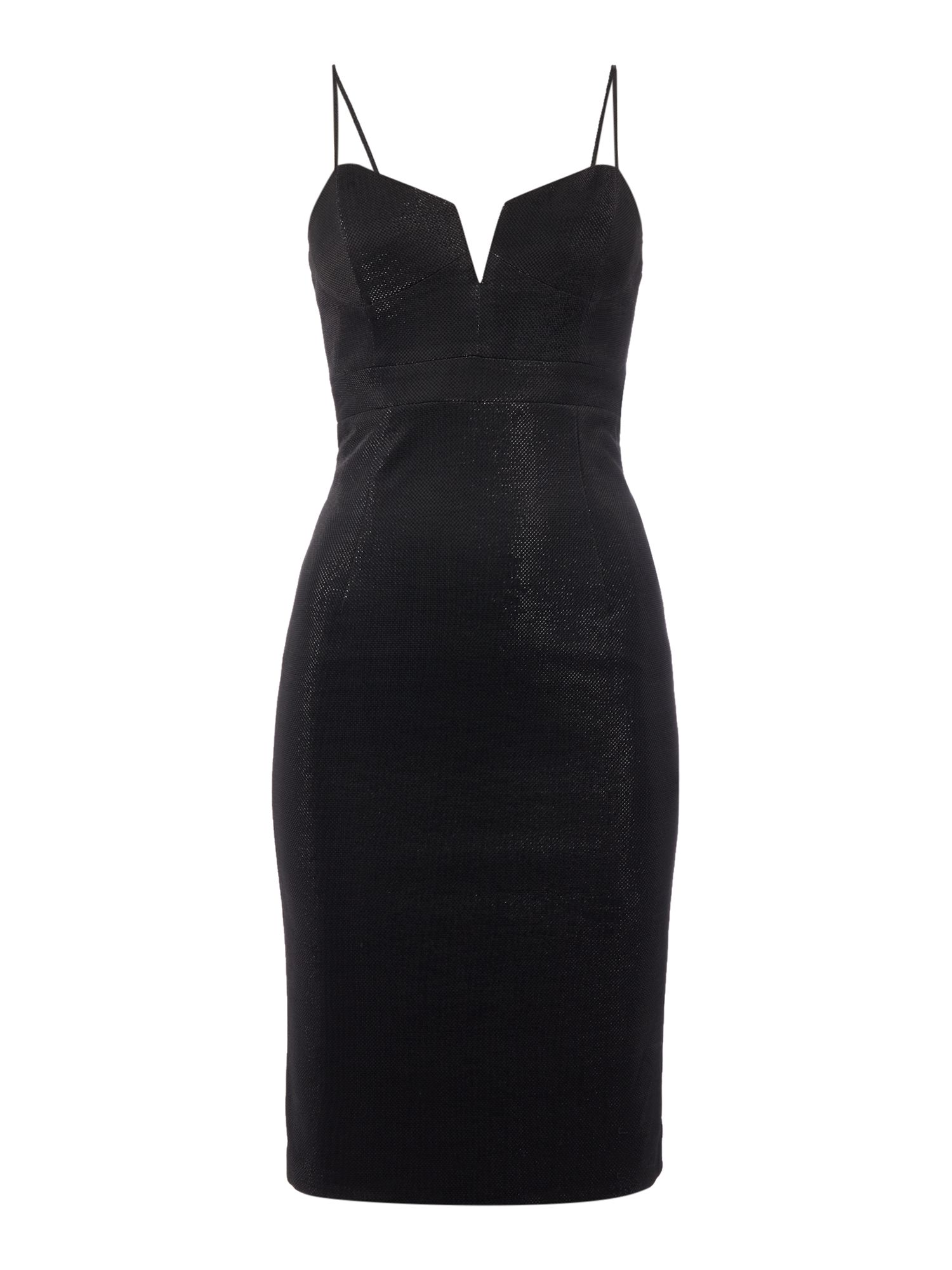 Bardot alexandra sleeveless dress, Black