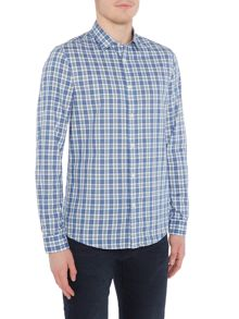 Michael Kors Wyatt checked shirt