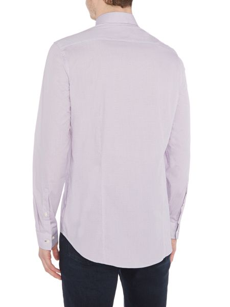 Michael Kors Boyd slim fit textured shirt