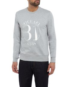 Michael Kors MK 81 logo crew neck sweat