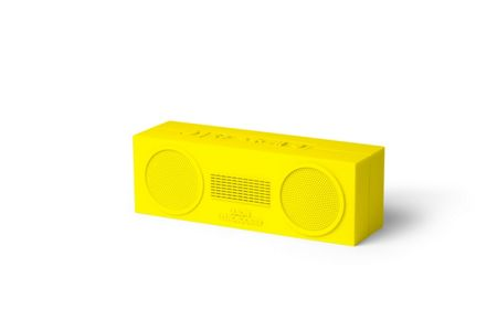 Lexon Tykho Booster Wireless Speaker, Yellow