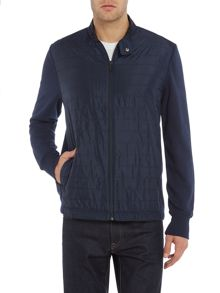 Michael Kors Zero gravity nylon zip through sweatshirt