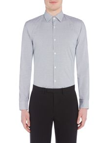 Hugo Joey Gingham Contrast Shirt